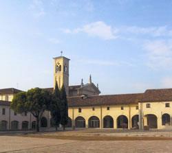 Corte del Monastero Benedettino di Legnaro (PD)