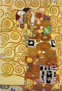 """Gustav Klimt """"Fulfilment"""""""